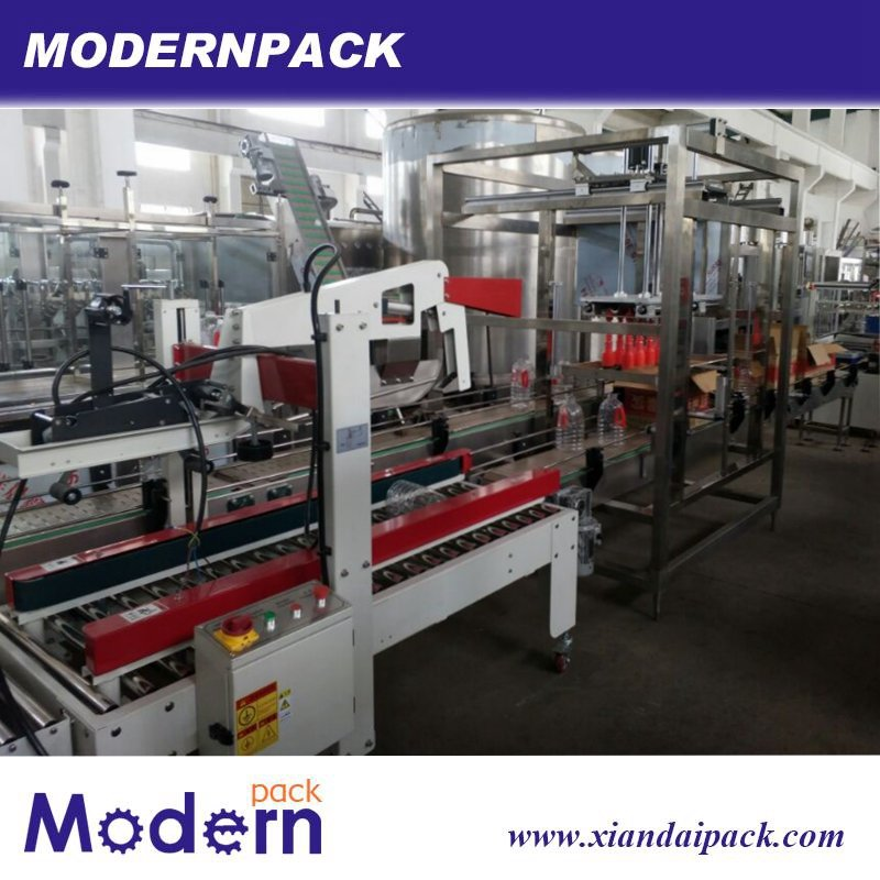 Full Automatic Glass Bottle Packing Machine