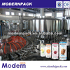 automatic juice filling machine for the can